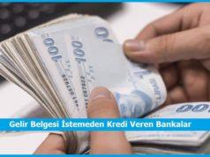 gelir belgesi istemeden kredi nasil alinir