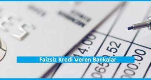 Faizsiz Kredi Basvurusu