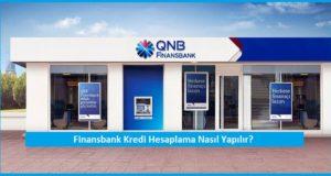 Finansbank Kredi Hesaplama Yontemleri