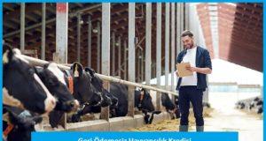 Hayvancılık Kredisi Başvuru